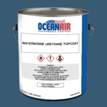 Waterborne Urethane Topcoat - Blue